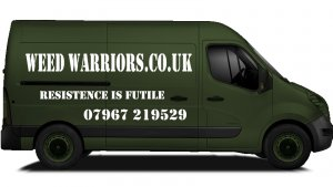 Weed Warriors Van